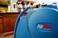 carpet cleaning Cardiff machine in pub