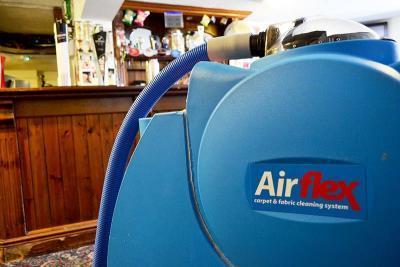 carpet cleaning Cardiff machine in pub