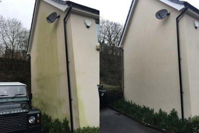 render cleaning cardiff